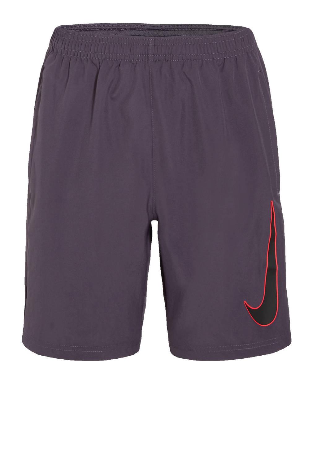 Nike Junior  sportshort donkerpaars/zwart, Donkerpaars/zwart