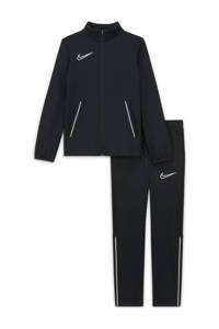 Nike Junior  trainingspak zwart/wit, Zwart/wit