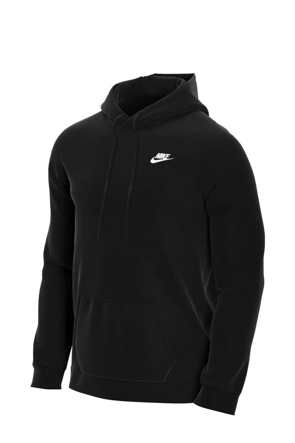 Nike hoodie zwart/wit, Zwart/wit