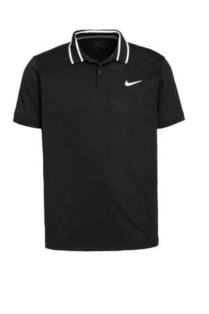 sportpolo zwart/wit