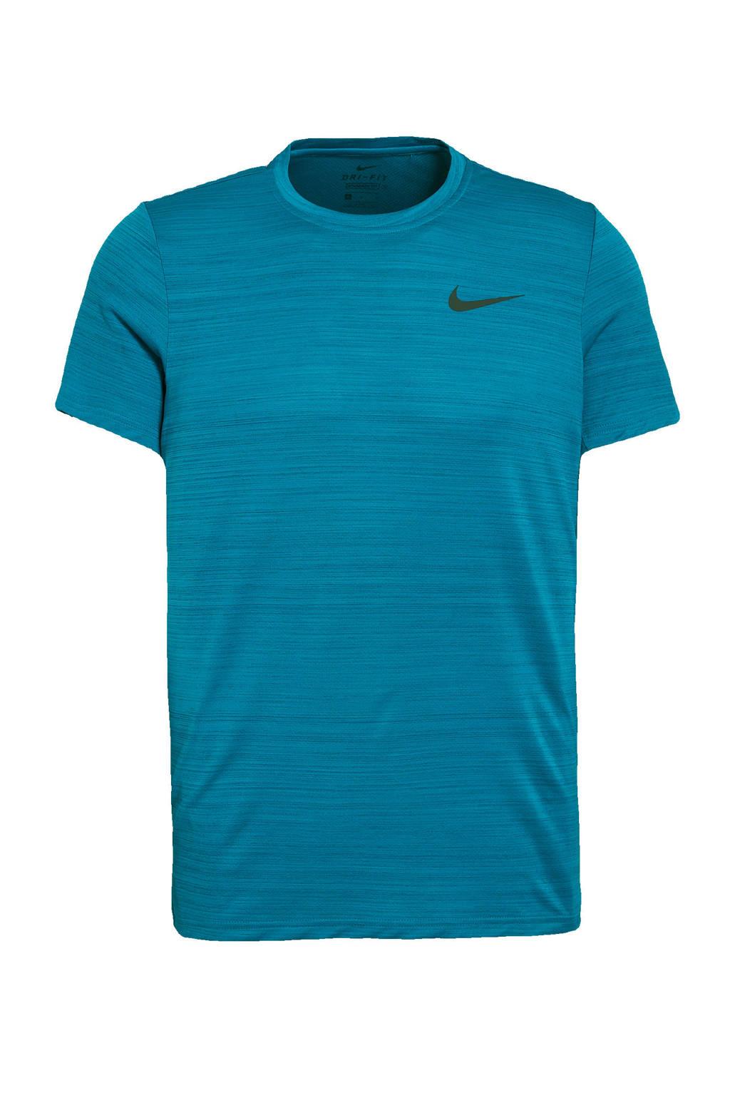 Nike   sport T-shirt petrol, Petrol