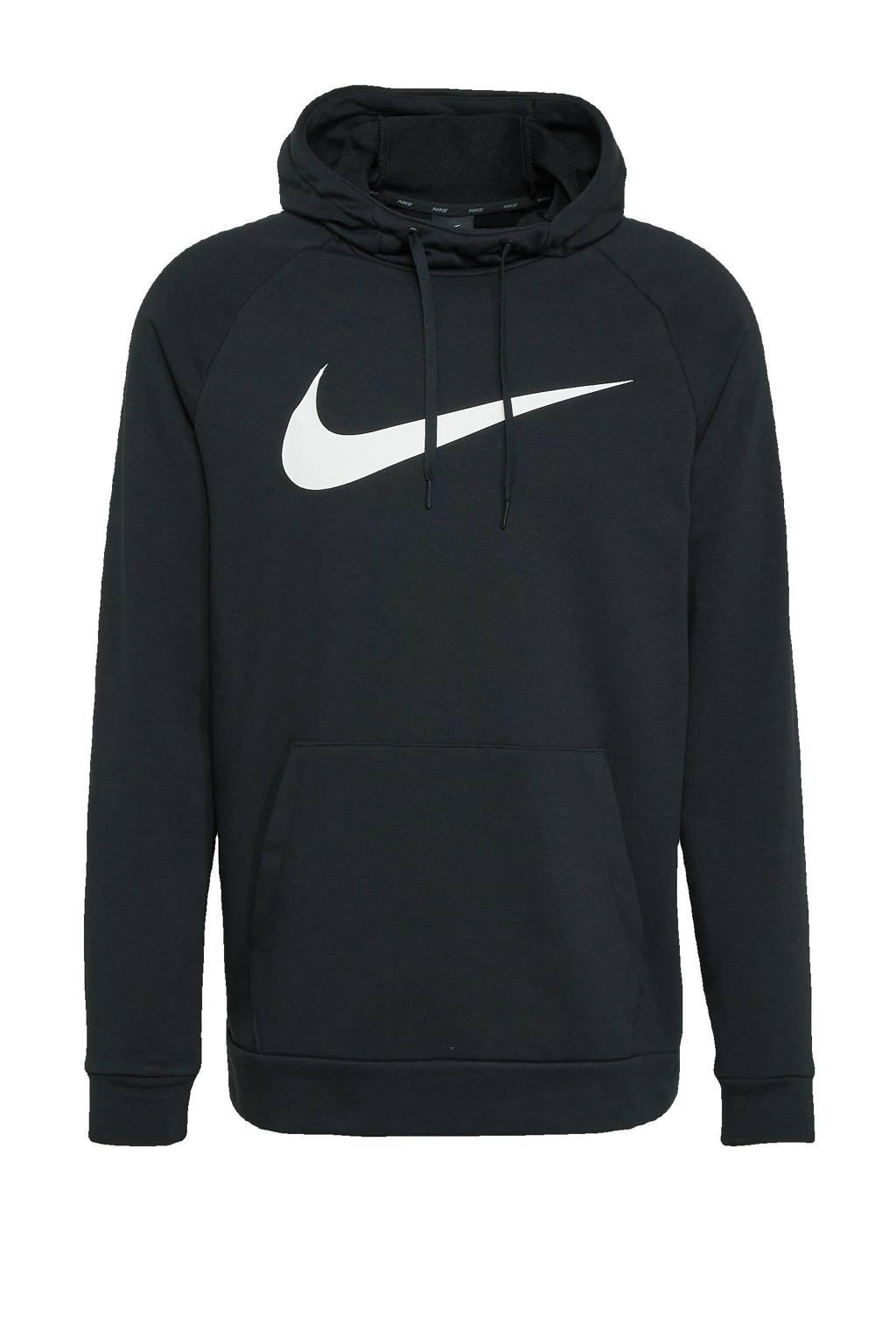Nike   sportsweater zwart/wit, Zwart/wit