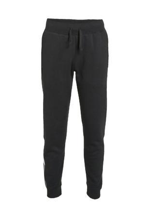 joggingbroek zwart/wit/grijs