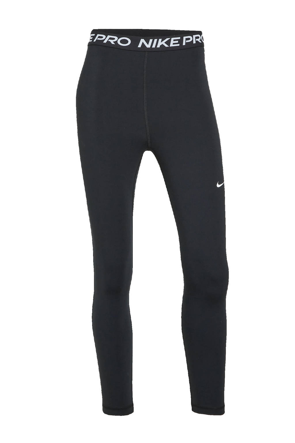 Nike 7/8 sportlegging zwart/wit, Zwart/wit