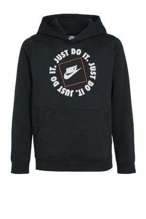 hoodie zwart/zwart