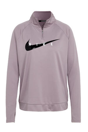 sport T-shirt lila/zwart