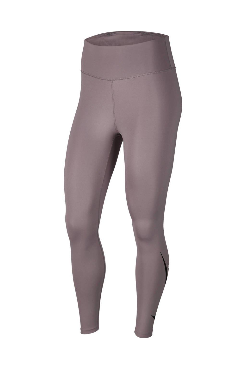 Nike hardlooplegging paars/zilvergrijs