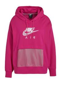 Nike Plus Size hoodie fuchsia/wit, Fuchsia/wit
