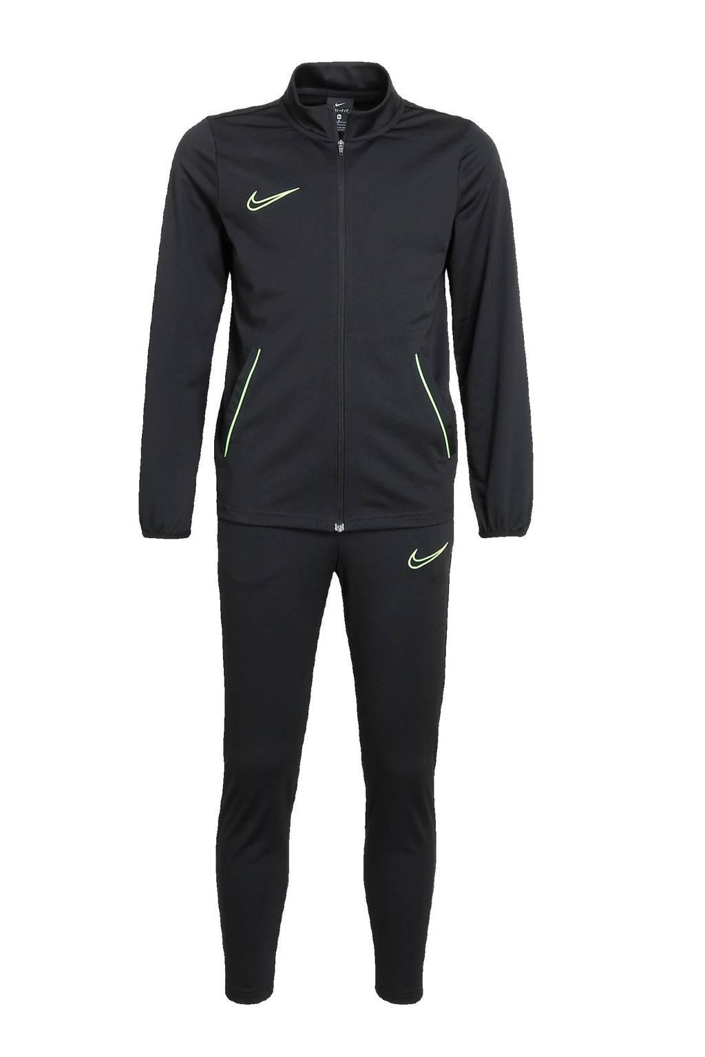 Nike   trainingspak zwart/felgroen