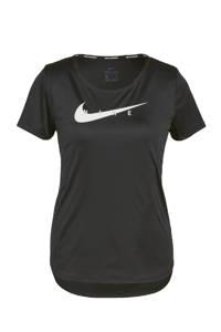 Nike sport T-shirt zwart/zilvergrijs, Zwart/zilvergrijs