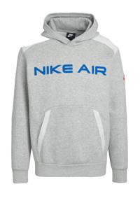 Nike hoodie grijs melange, Grijs melange