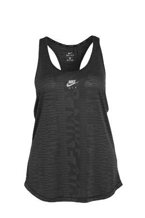 Plus Size sport T-shirt zwart/donkergrijs/zilvergrijs