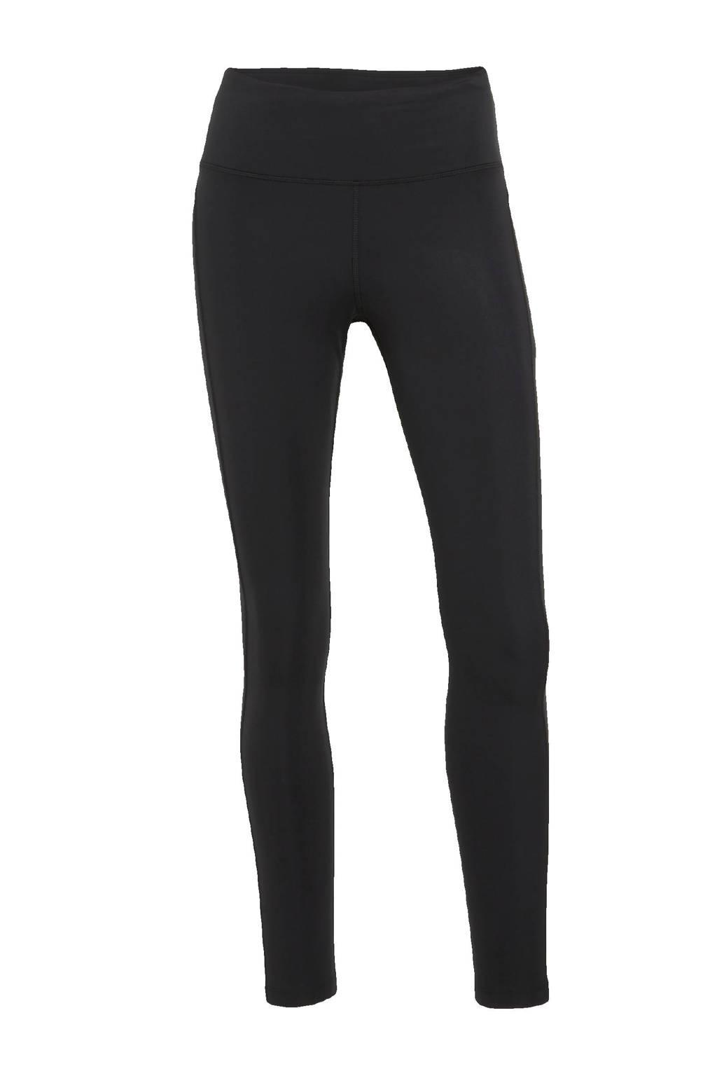 Nike hardloopbroek zwart/zilvergrijs, Zwart/zilvergrijs