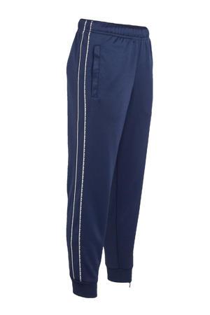 joggingbroek donkerblauw/wit