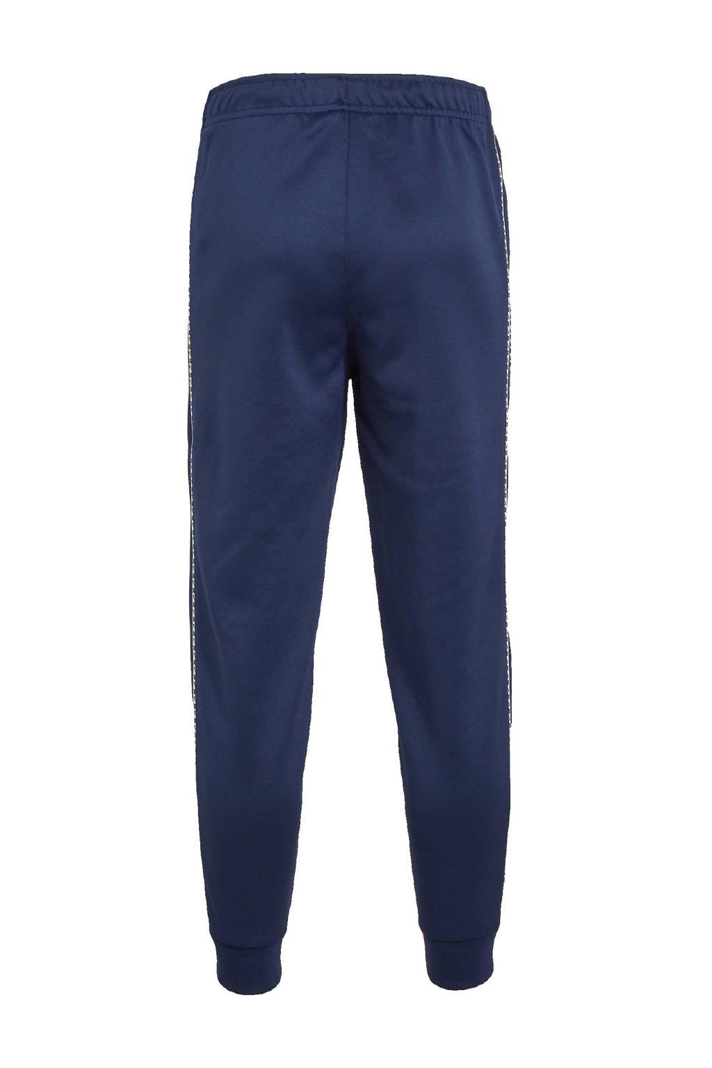 Nike joggingbroek donkerblauw/wit, Donkerblauw/wit