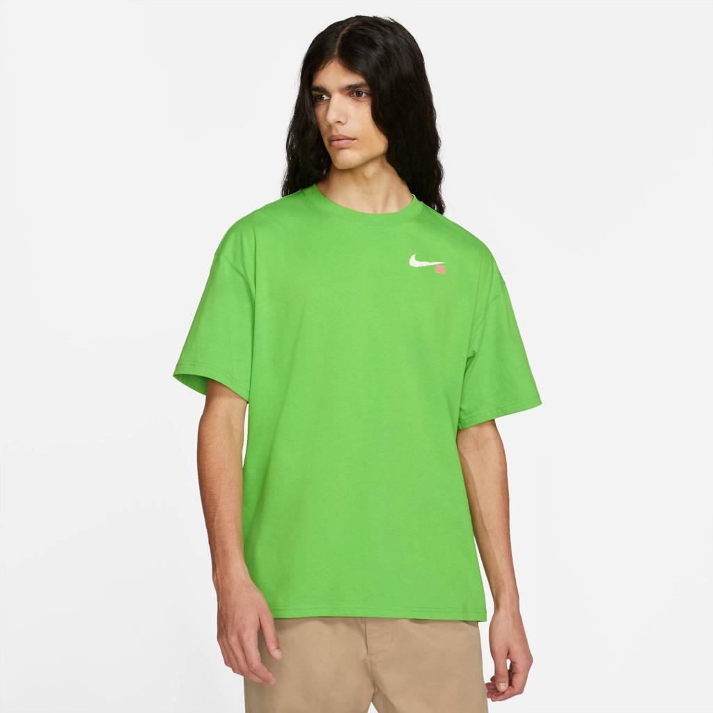 Nike T-shirt groen, Groen