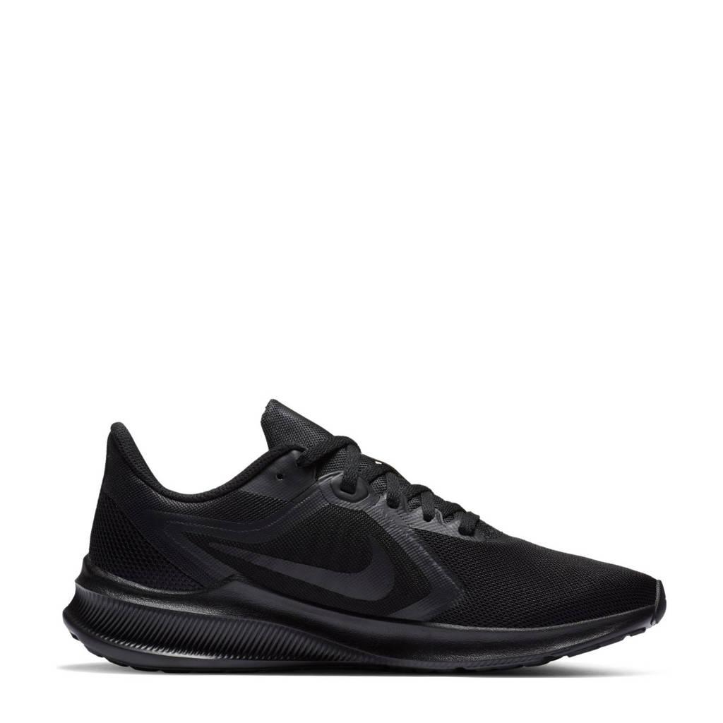 Nike Downshifter 10 hardloopschoenen zwart, Zwart/Zwart