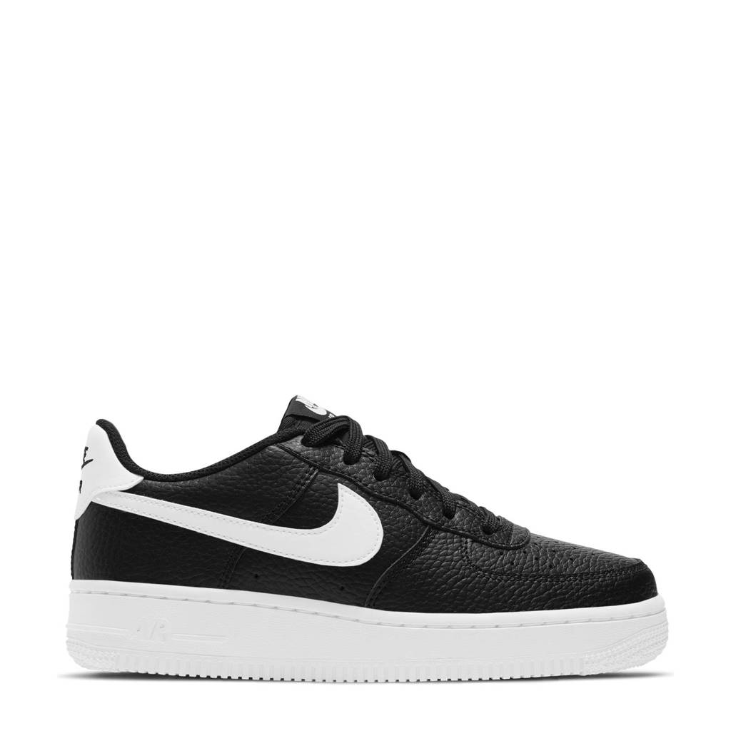 Nike Air Force 1  sneakers zwart/wit, Zwart/wit