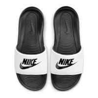 Nike Victori One Slide  slippers zwart/wit, Zwart/wit