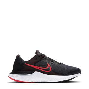 Renew Run 2 hardloopschoenen zwart/rood/wit