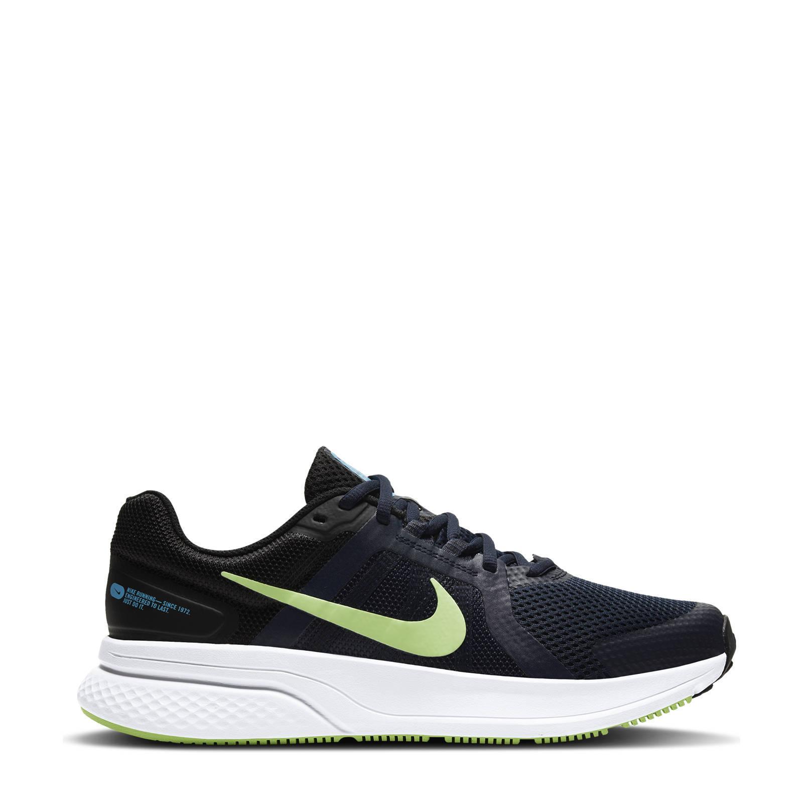 Nike Run Swift 2 hardloopschoenen grijs/zwart-wit online kopen