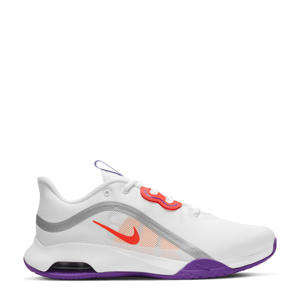 Air Max Volley  tennisschoenen wit/oranje-lila