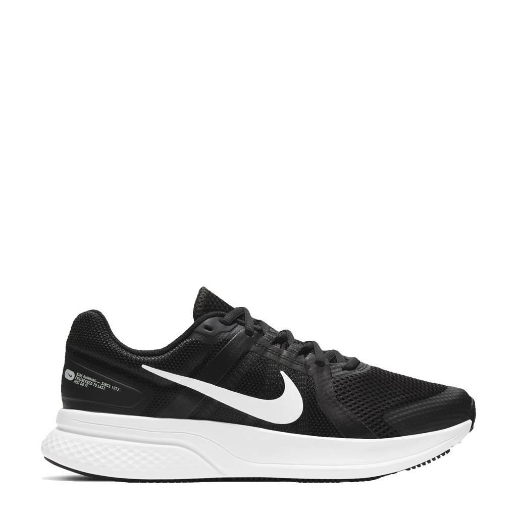 Nike Run Swift 2 hardloopschoenen zwart/wit/donkergrijs, zwart/wit-donkergrijs