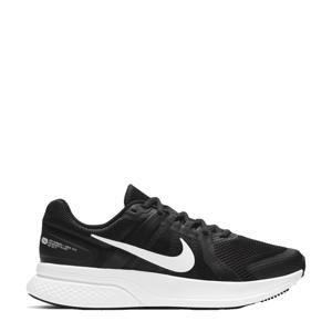 Run Swift 2 hardloopschoenen zwart/wit/donkergrijs