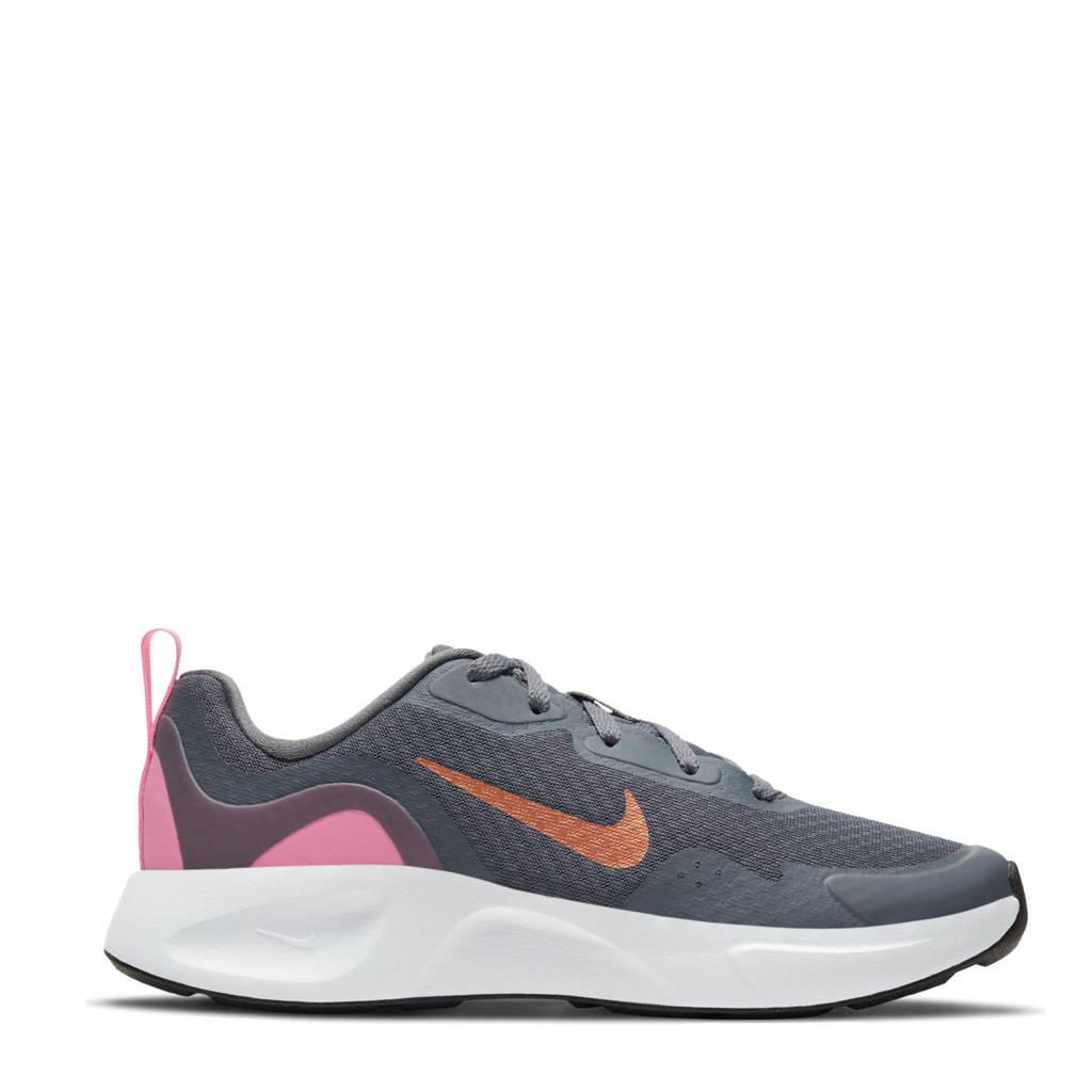 Nike WearAllDay (GS) sneakers grijs/koper/roze, grijs/koper-felroze