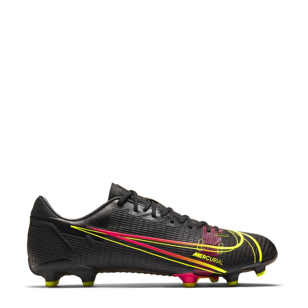 Nike Vapor 14 Academy FG/MG Sr. Voetbalschoenen zwart/felgeel, zwart/felgeel-zwart