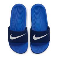 Nike Kawa Slide (GS/PS) slippers blauw/kobaltblauw, blauw/kobaltblauw-zilver grijs