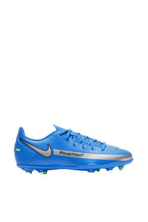 Phantom GT Club FG/MG Jr. voetbalschoenen kobaltblauw/zilver/groen
