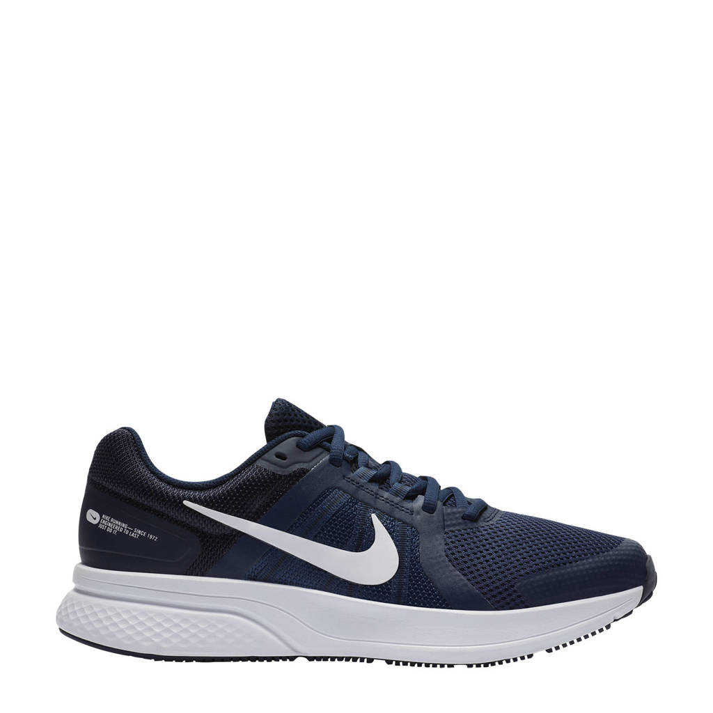 Nike Run Swift 2 hardloopschoenen donkerblauw/wit, Donkerblauw/wit