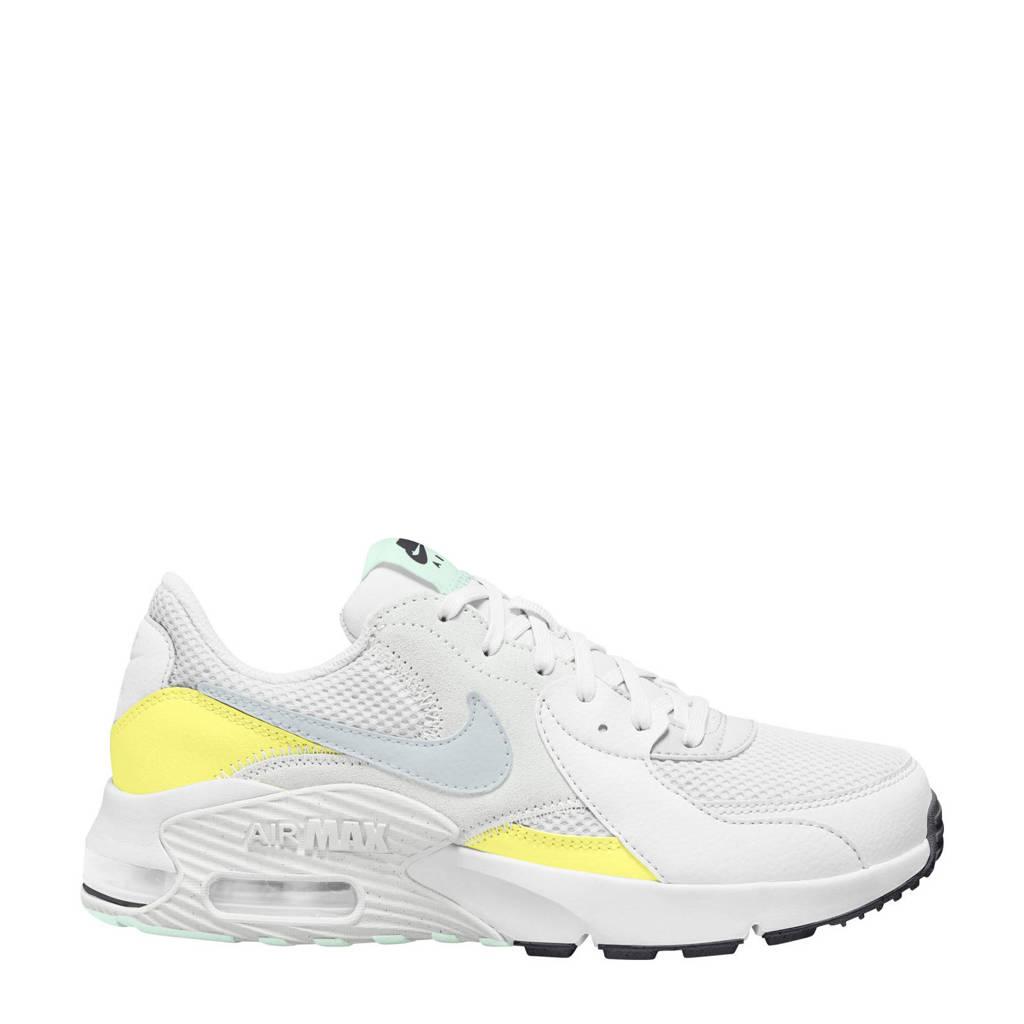 Nike Air Max Excee sneakers wit/mat zilver-geel