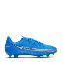 Nike Phantom GT Academy  FG/MG Jr. voetbalschoenen kobaltblauw/zilver-felgroen