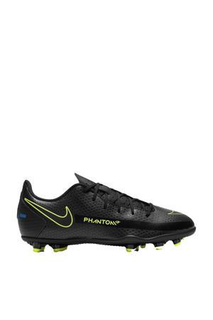 Phantom GT Club FG/MG Jr. voetbalschoenen zwart/felgeel/kobaltblauw