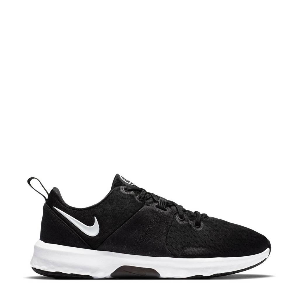Nike City Trainer 3 fitness schoenen zwart/wit, Zwart/wit