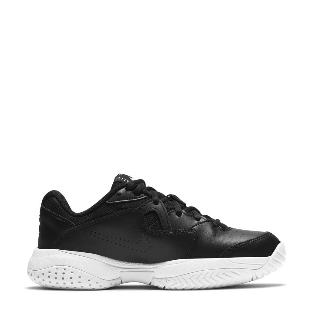 Nike Jr. Court Lite 2 sportschoenen zwart/wit, Zwart/wit