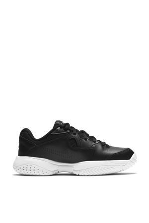 Jr. Court Lite 2 sportschoenen zwart/wit