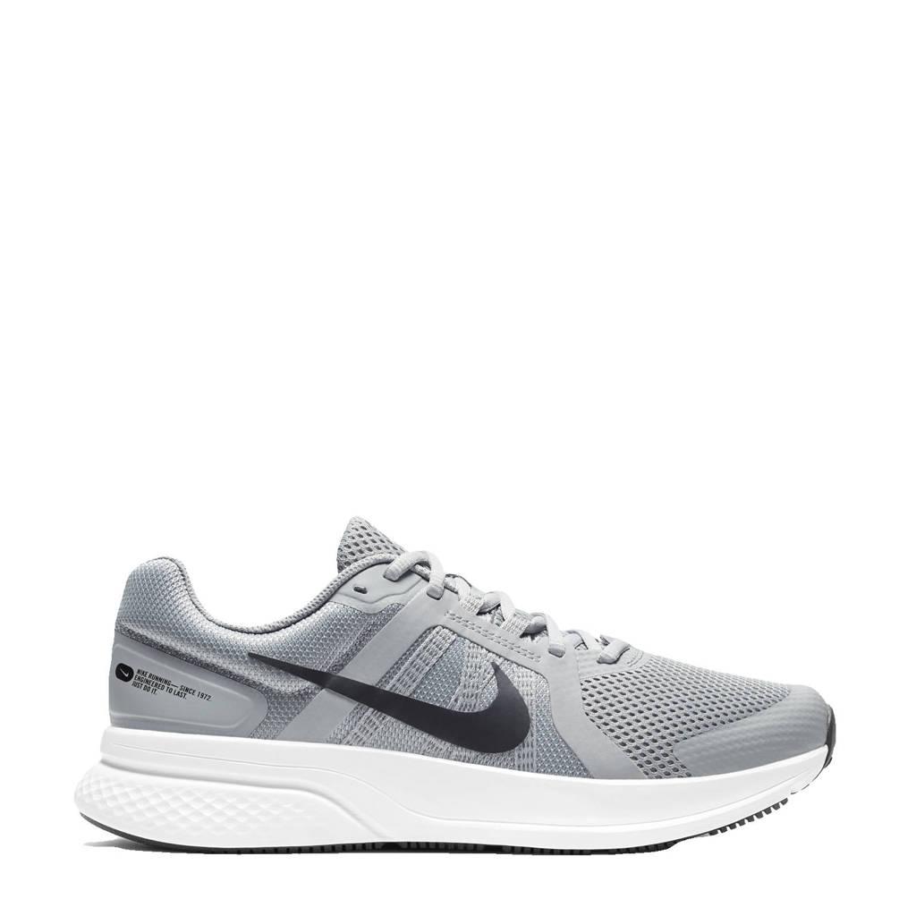 Nike Run Swift 2 hardloopschoenen grijs/zwart-wit, Grijs/zwart-wit
