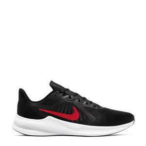 Downshifter 10 hardloopschoenen zwart/rood/wit