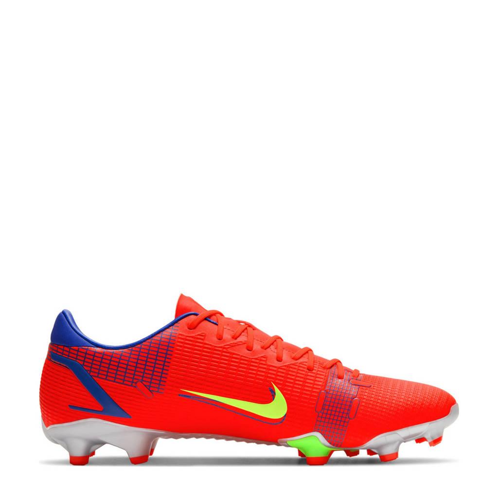 Nike Vapor 14 Academy FG/MG Sr. Voetbalschoenen rood/zilver, Rood/zilver