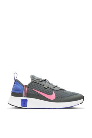 Reposto (PS) sneakers grijs/koraalrood-paars-zwart