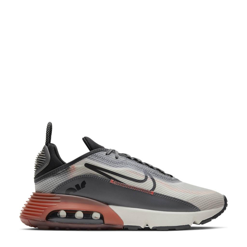 Nike Air Max 2090 sneakers ecru/zwart/grijs, lichtgrijs/zwart-zwart-donkergrijs