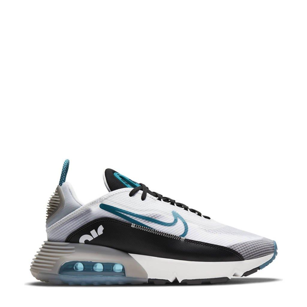 Nike Air Max 2090 sneakers wit/groen/zwart, wit/petrol-zwart-zilver grijs