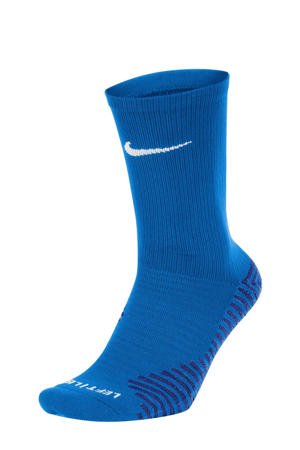 sportsokken kobaltblauw/wit