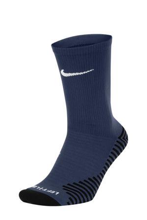 sportsokken donkerblauw/wit