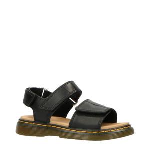 Romi J Black T Lamper leren sandalen zwart