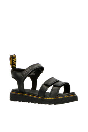 Klaire J Black T Lamper leren sandalen zwart