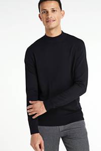 Redefined Rebel fijngebreide trui Harry zwart, Zwart